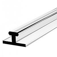 Пластиковый Т-профиль 1250х10 мм для разделителей